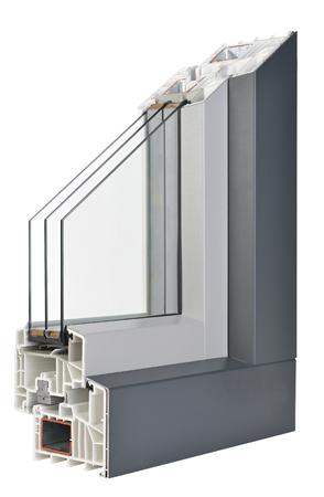 aluminum: AluminumPlastic window profile