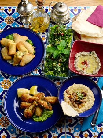 lebanese food: Arabic Lebanese food