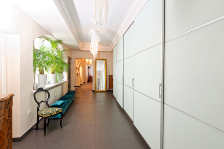 Corridor in the luxury appartment