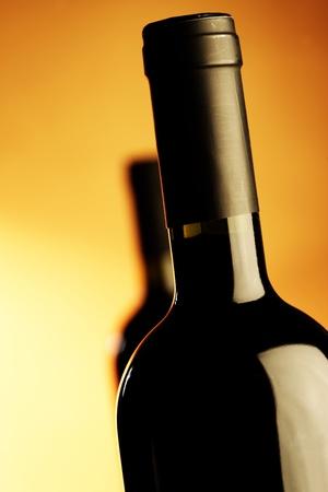 wine red bottle photo