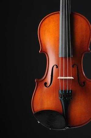 Violin detail,musical instrument,close up  photo