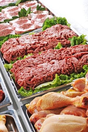 carniceria: La carne cruda, de cerca