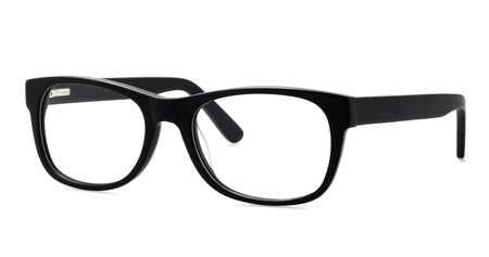 brillen op een witte achtergrond Stockfoto