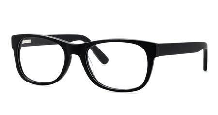 eyeglasses on a white background Stok Fotoğraf