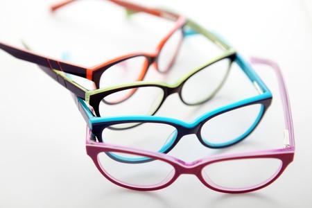 samenstelling van gekleurde bril