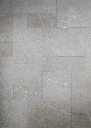 tile flooring: marble background grey tiles, mosaic Stock Photo
