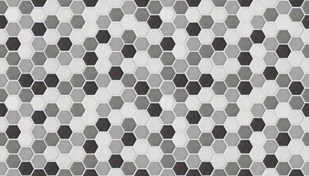 small hexagonal tiles seamless of marble