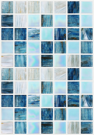 vaus 効果大理石と青い正方形のタイル 写真素材
