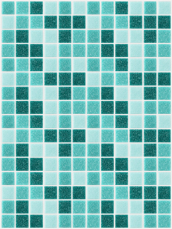 small colored decorative tiles mosaic