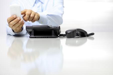 listless: break in office from work, phone off