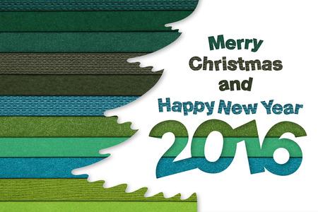 tonality: merry christmas and happy new year text on tree