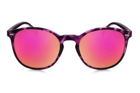 lunettes de soleil isolé sur fond blanc