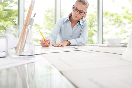 quantity: Architect Engineer Design Working Planning Concept
