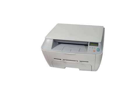 Big gray multifunction laser printer Stock Photo - 4465455