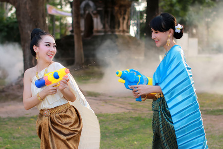 Welcome Songkran Festival in Thailand
