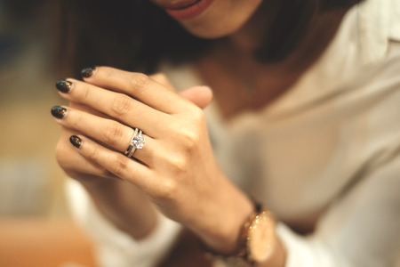 An engagement ring,An engagement ring is a ring indicating that the person wearing it is engaged to be married, especially in Western cultures.