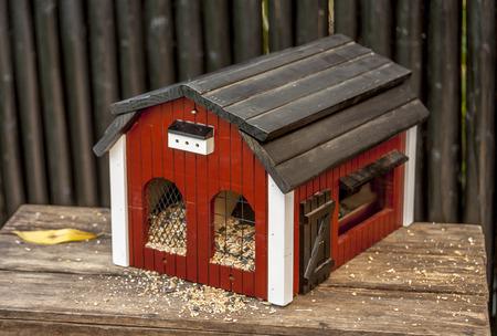 Vogelhaus für unsere kleine Freunde für Lebensmittel