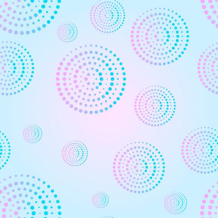 valentineday: A circular ornament, seamless texture, geometric pattern Illustration