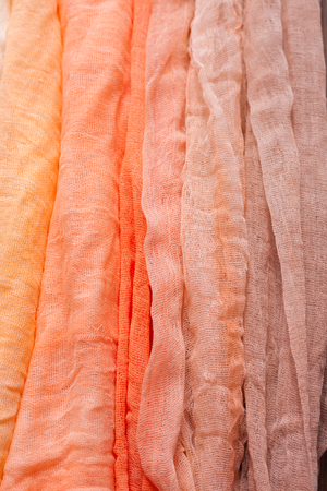 Painted gauze, pieces of fabric for a nice bright background, all colors of the rainbow.