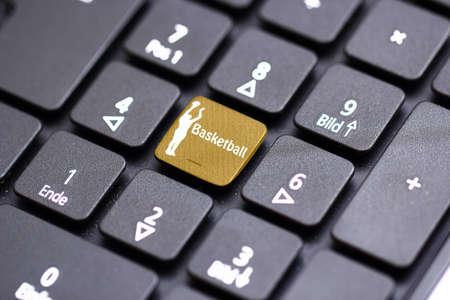 basketball keyboard photo