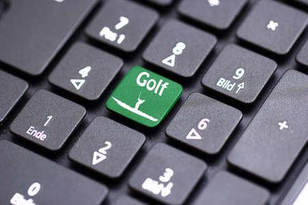 golf keyboard photo