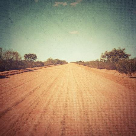 sable: Desert Road - Outback Track in Australia