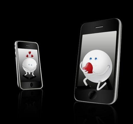 3g: 3G Technology & black elegance