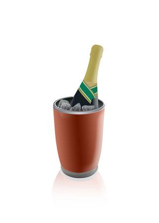 champagne bucket Stock Photo - 7455805