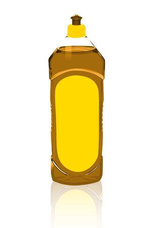 detergent: orange detergent