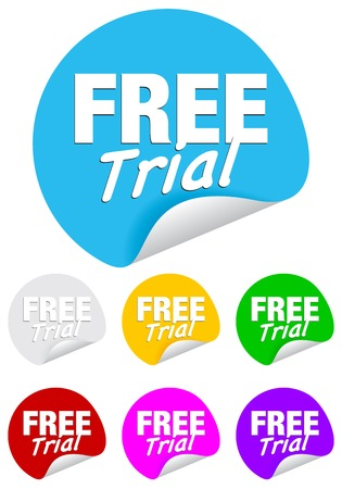 free trial: Free trial on the sticker