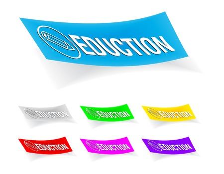 Eduction icon on the sticker