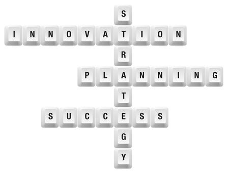innovation key Vector