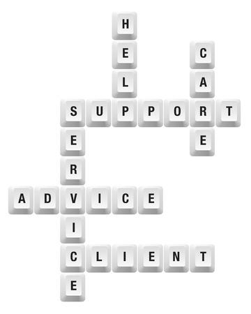 Support-Schlüssel