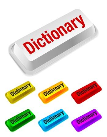 data dictionary: dictionary button