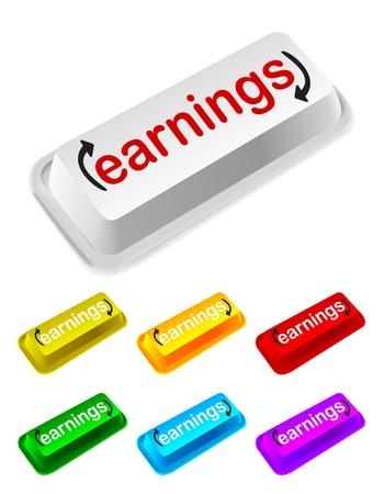 earnings: earnings button