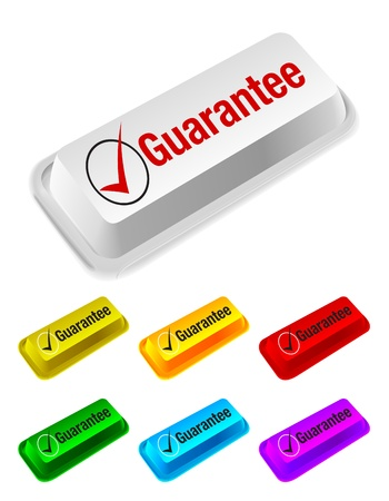 add to cart: guarantee button Illustration
