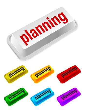 peripherals: planning button Illustration