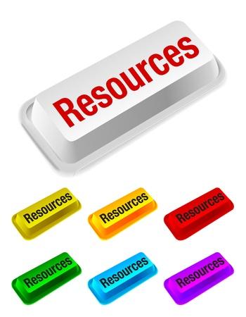 e data: resources button Illustration