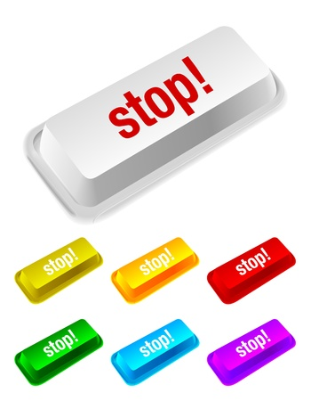 peripherals: stop button Illustration