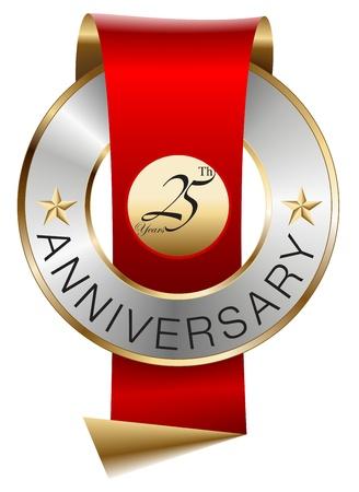 aniversario: 25 � aniversario