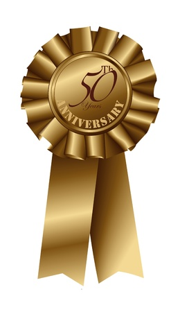 aspirations ideas: Gold Ribbon for 50th Anniversary