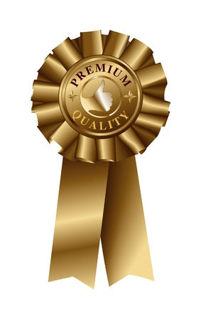 Premium Quality Gold Ribbon