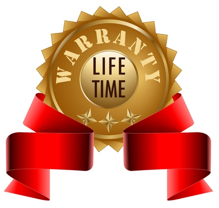 Warranty Lifetime and Red Ribbon
