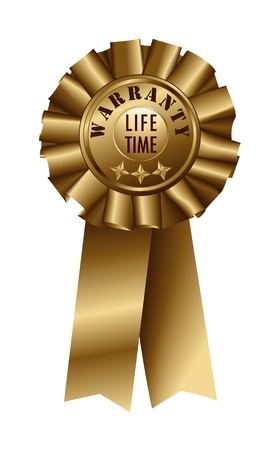 lifetime: Ribbon Warranty Lifetime