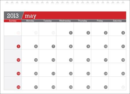 may 2013-planning calendar