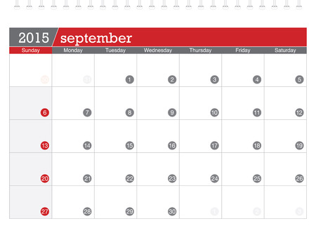 planificacion: 09 2015 calendario de planificaci�n