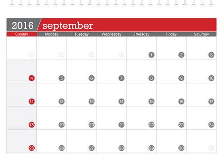planificacion: September 2016 planning calendar