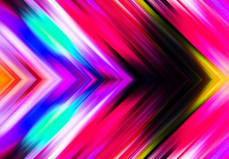 colorful simple tapered upward right parallel lines background and pattern abstract vibrant geometric rainbow background and pattern