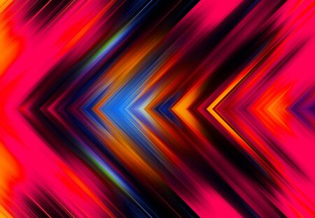 dark pink and orange and blue simple tapered left parallel lines background and pattern abstract vibrant geometric rainbow background and pattern