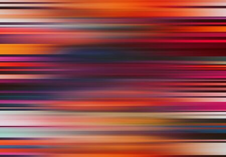 orange and blue simple straight parallel lines background and pattern abstract vibrant geometric rainbow background and pattern Stock fotó